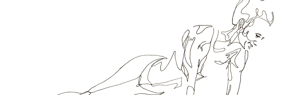 Yoga Line Drawings