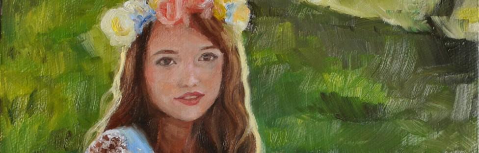 Spring Oil Paintings